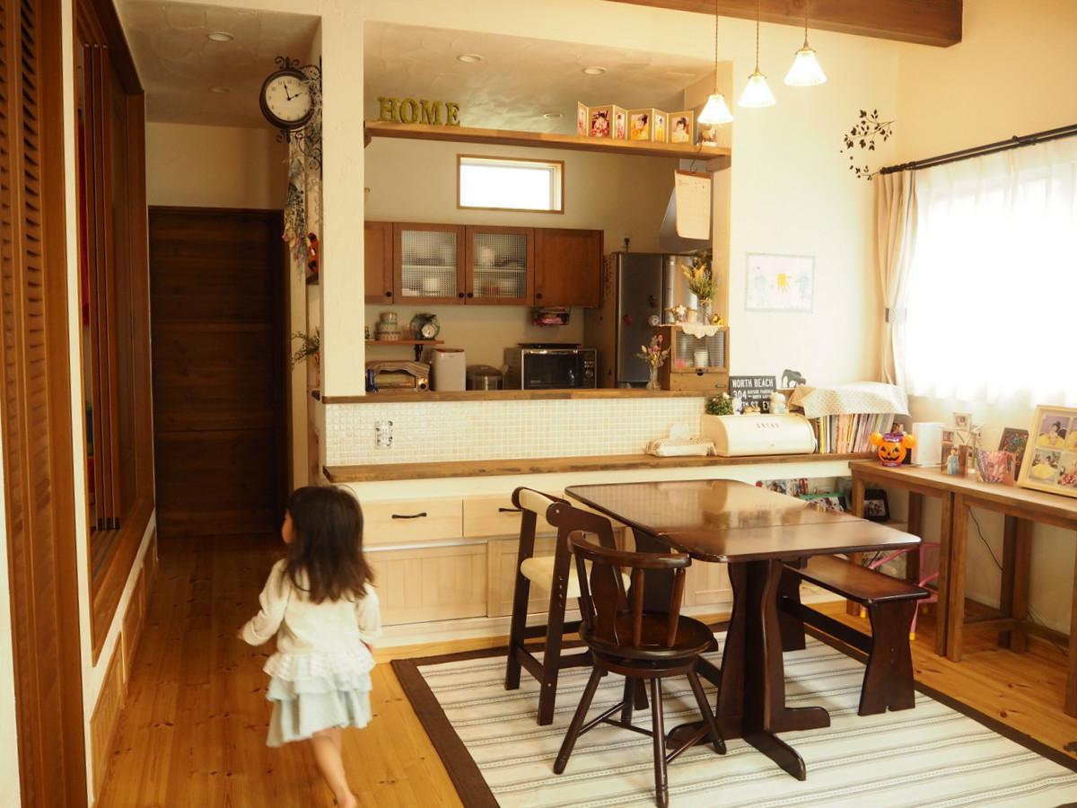 手作り雑貨を楽しむ自然素材の家