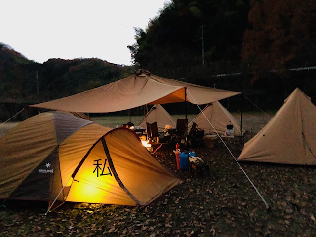 人生初!建築士がテント・寝袋で寝てみた