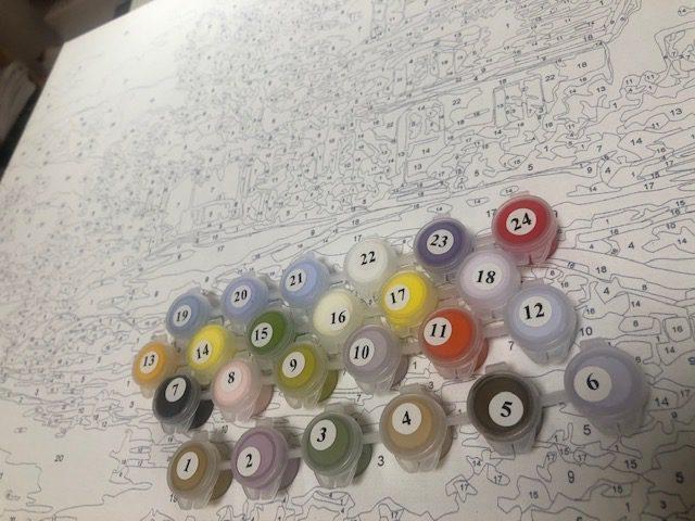 数字を塗るだけで風景画が描けちゃう趣味の話