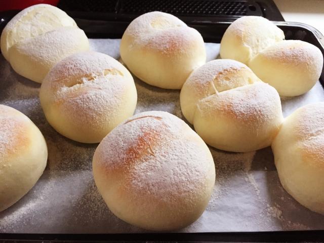 ズボラ女子の挑戦〈白パンを作ってみた〉
